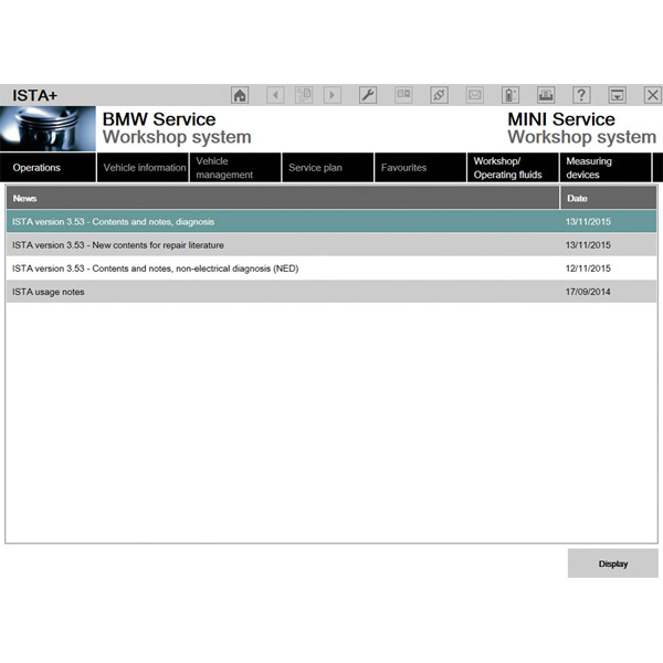 BMW ICOM Latest Software HDD Windows 7 with Engineers Programming