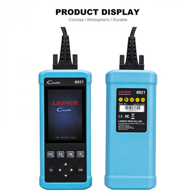 CR8021 Launch official store eobd function code reader CR8021 diagnostic tool obd2 scanner with oil EPB BMS SAS reset +