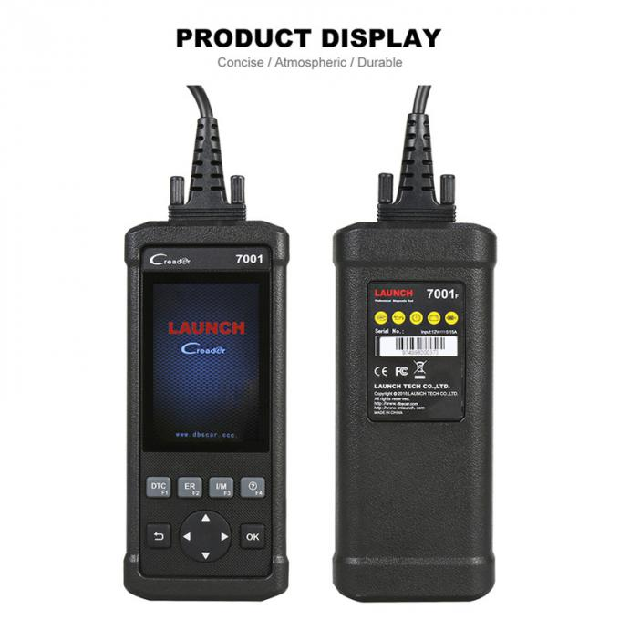 New Launch CR7001F Code Reader Auto Diagnostic tool With ABS Bleeding,Battery Management System Reset diagnostic adapter
