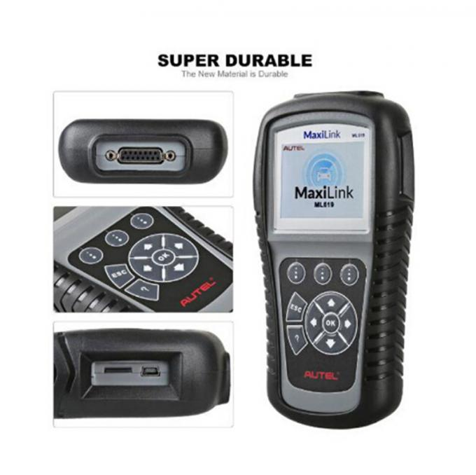 Automotive Scanner Autel Diagnostic Tools MaxiLink ML619 OBDII Code Reader For ABS/SRS System