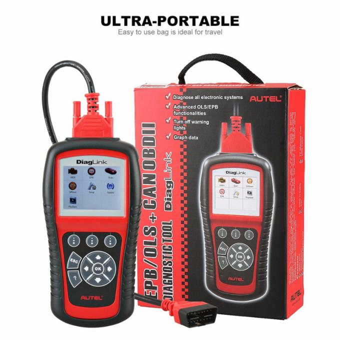 Original Autel Diaglink OBDII/EOBD Car Diagnostic Scanner , Vehicle Code Reader