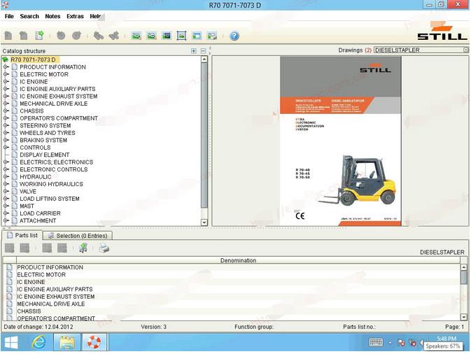 cf52 laptop install Jungheinrich Forklift diagnostic scanner